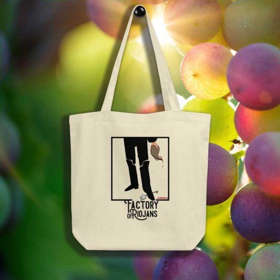 Bolso de mano ecológico de La Rioja y San Bernabé