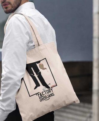 Bolsa ecológica para hombre con diseños exclusivos