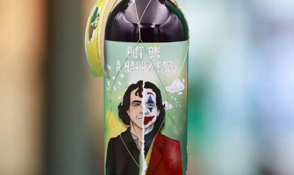 Botellas originales inspirada en Joker