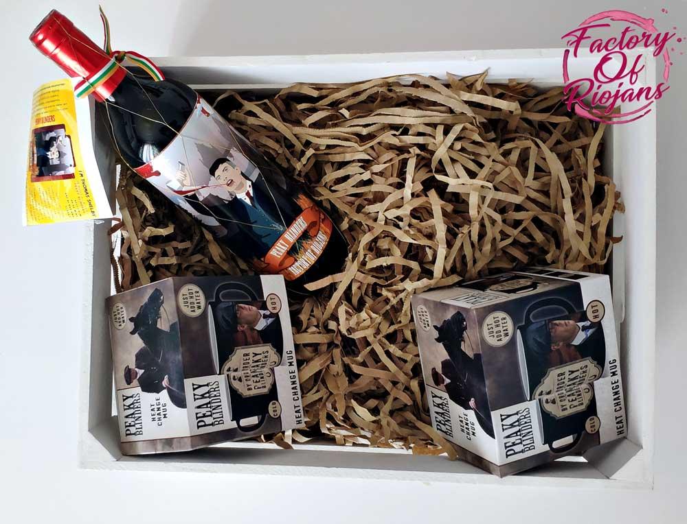 Caja de regalos de la serie Peaky Blinders