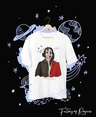 Camiseta Joker 2019 de color blanco