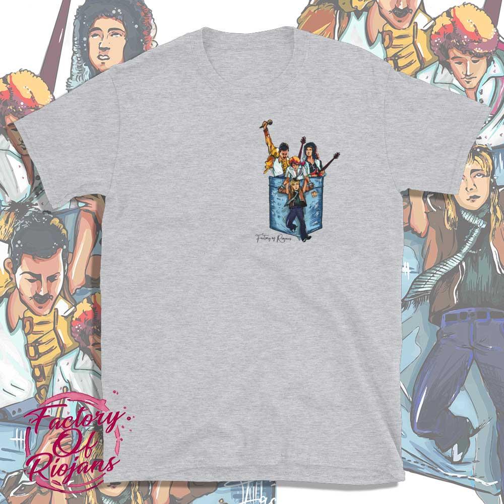 Camiseta Gris claro de Queen
