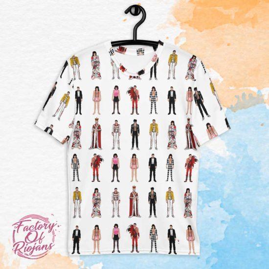 Camiseta original Freddie Mercury