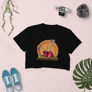 Camiseta mujer con porrón
