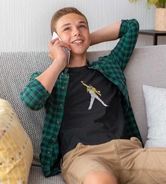 Camiseta adolescente Freddie Mercury