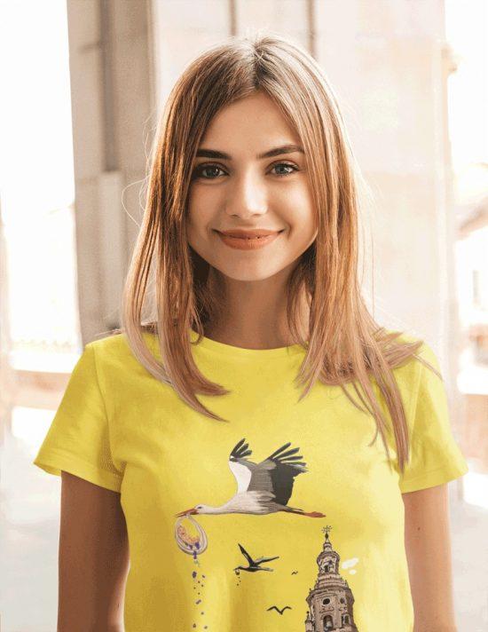 Camiseta Cigüeña en La Redonda