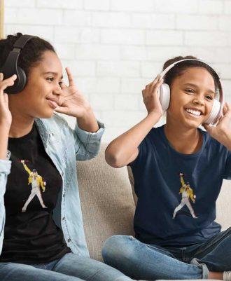 Camiseta para niñas con Freddie Mercury