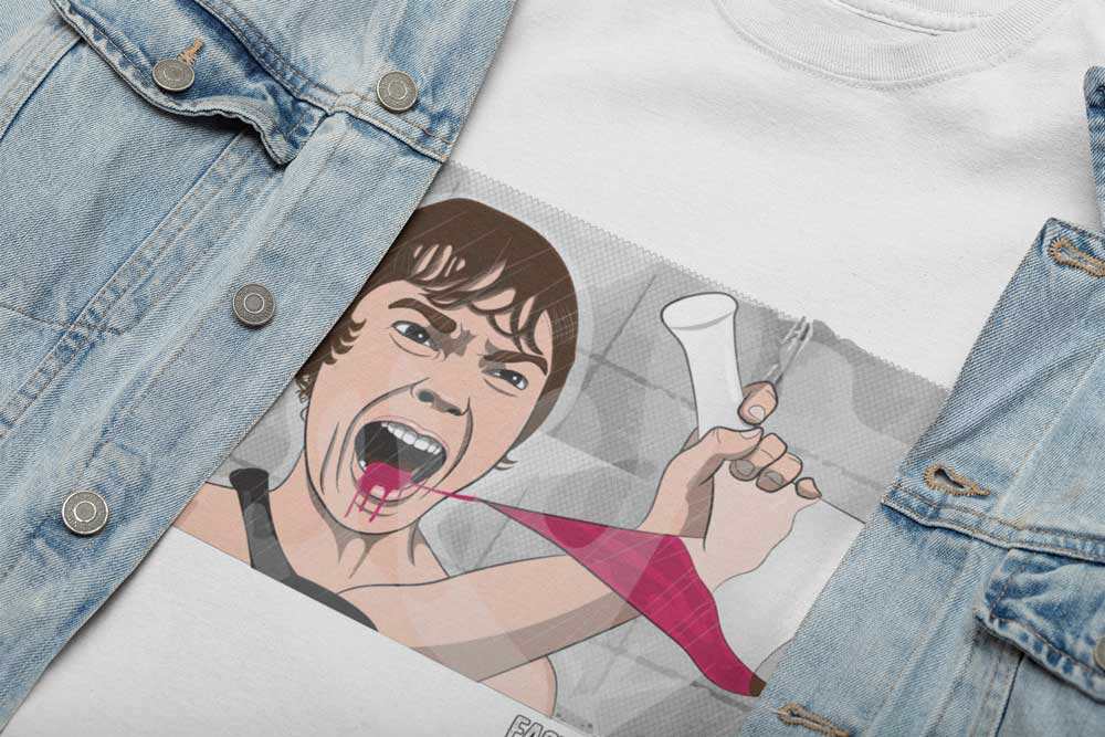 Camiseta sostenible Psicosis