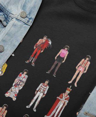 Camisetas sostenibles Freddie Mercury