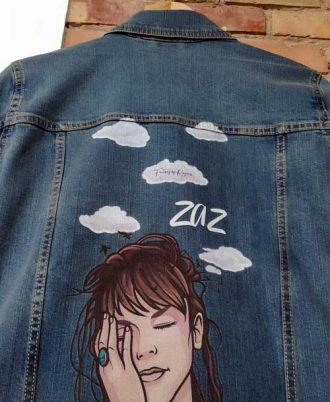 Cazadora cantanta Zaz