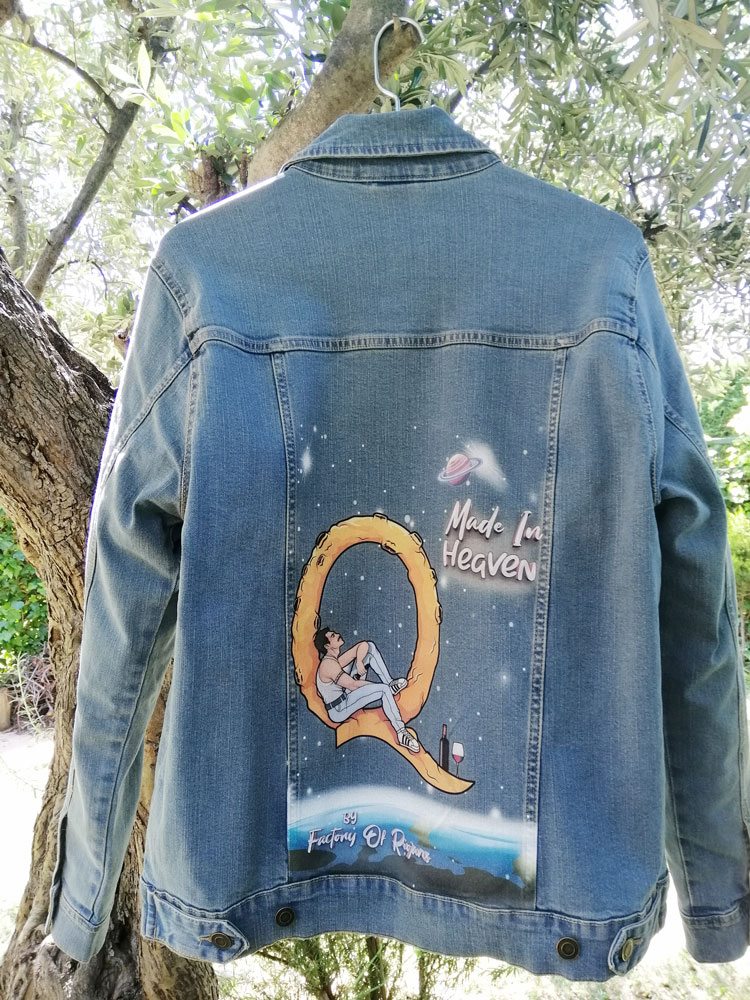 Cazadora personalizada unisex de Freddie Mercury