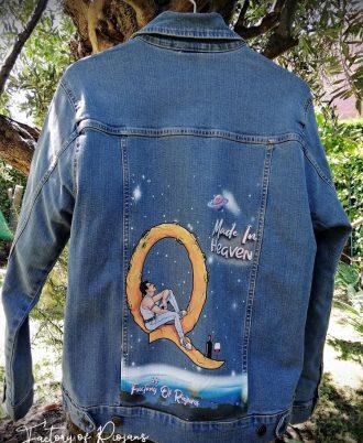 Chaqueta personalizada de Freddie Mercury