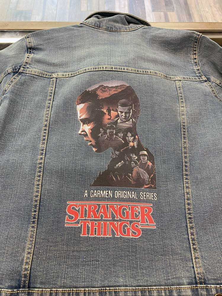 Chaqueta personalizada Stranger Things
