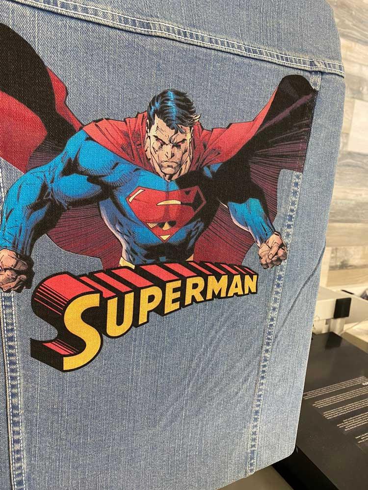 Chaqueta personalizada Superman