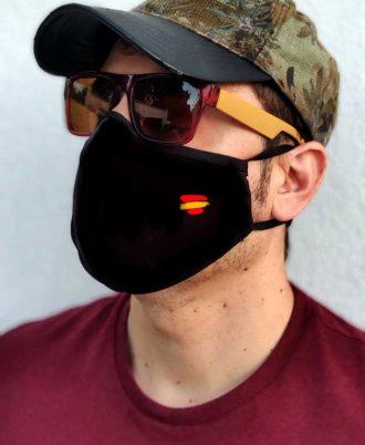 Comprar mascarillas reutilizables con la bandera de España