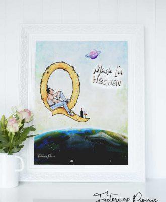 Láminas decoración Queen