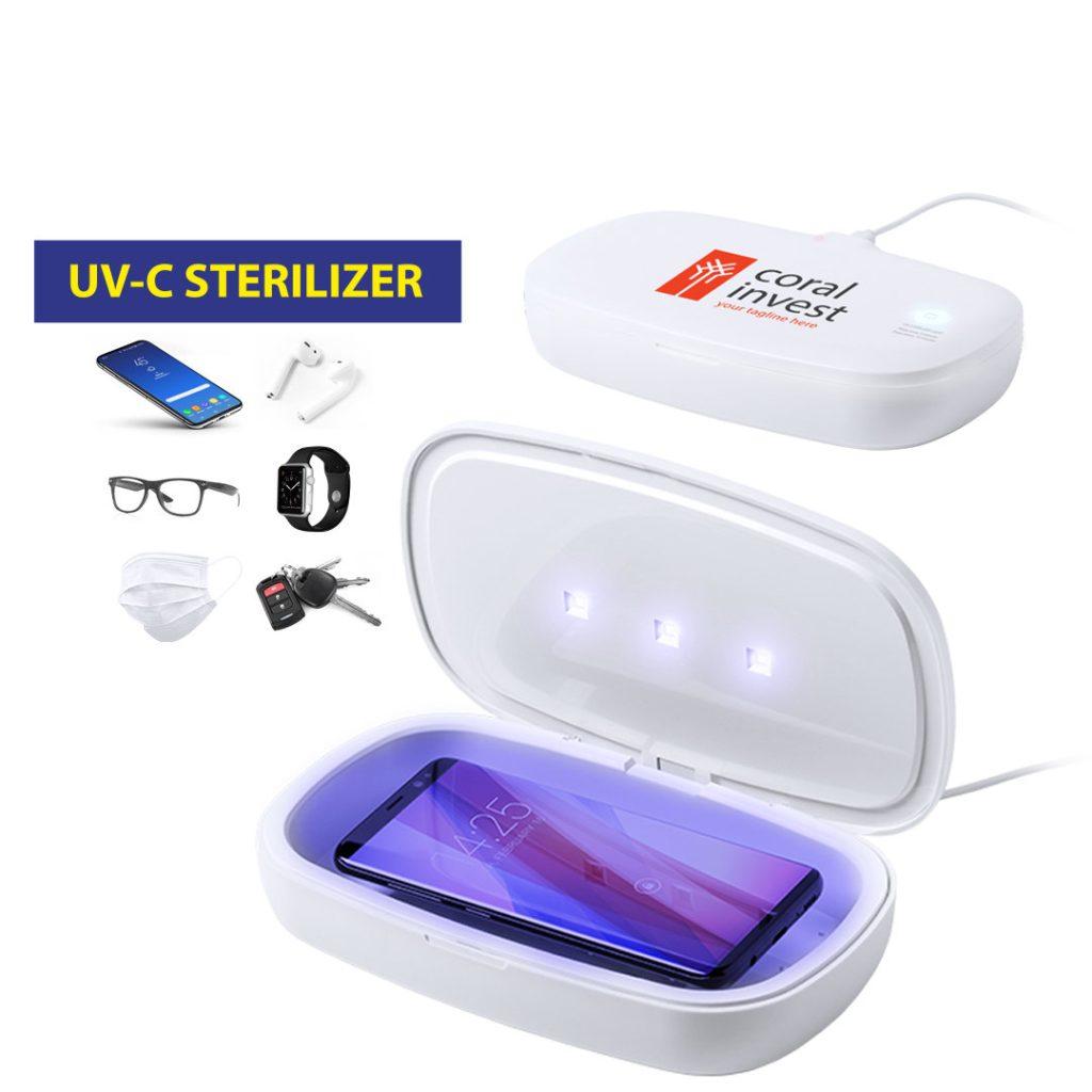 Caja Esterilizadora UV para desinfectar mascarillas