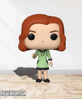 Figura Gambito de Dama vestido verde Funko Pop!