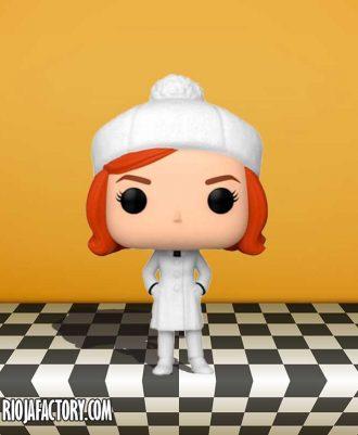 Figura Gambito de Dama gorro blanco Funko Pop!