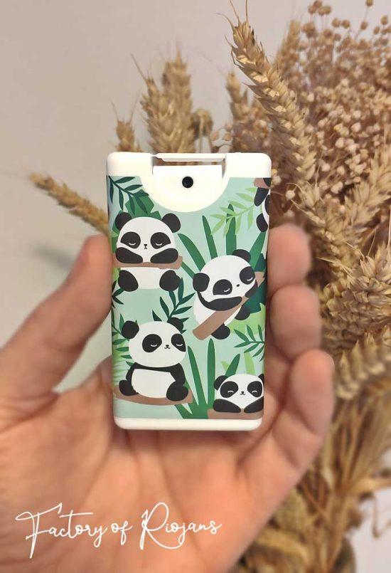 Gel hidroalcohólico Osos Panda Bambú
