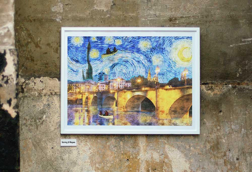 Lámina original Van Gogh en Logroño