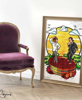Láminas de péliculas y series para decorar