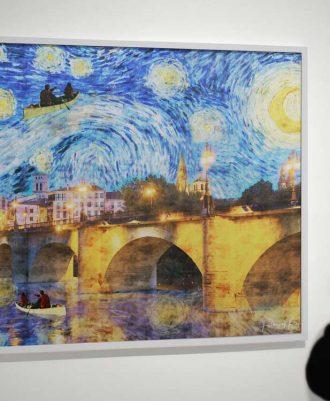 Láminas decoración Noche Estrellada Logroño
