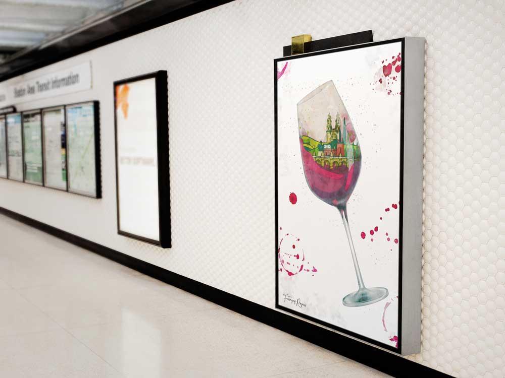 Lámina decorativa Vino del Norte
