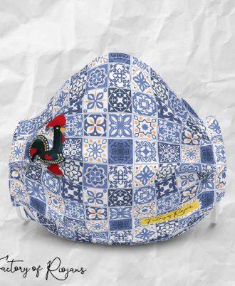 Mascarilla azulejos Portugal