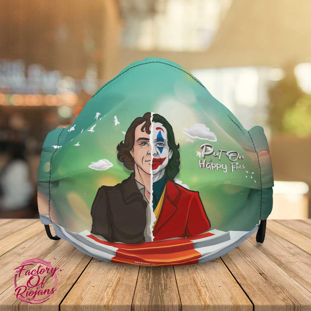 Mascarilla de diseño película Joker