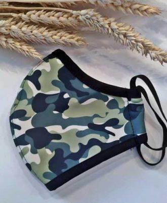 Mascarilla militar reutilizable