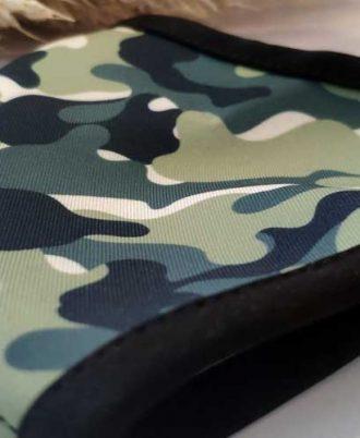 Mascarilla reutilizable militar