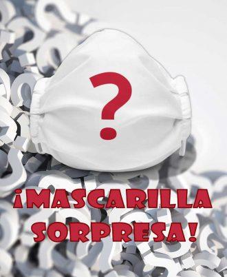 Mascarilla reutilizable sorpresa