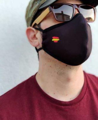 Mascarillas certificadas con bandera de España