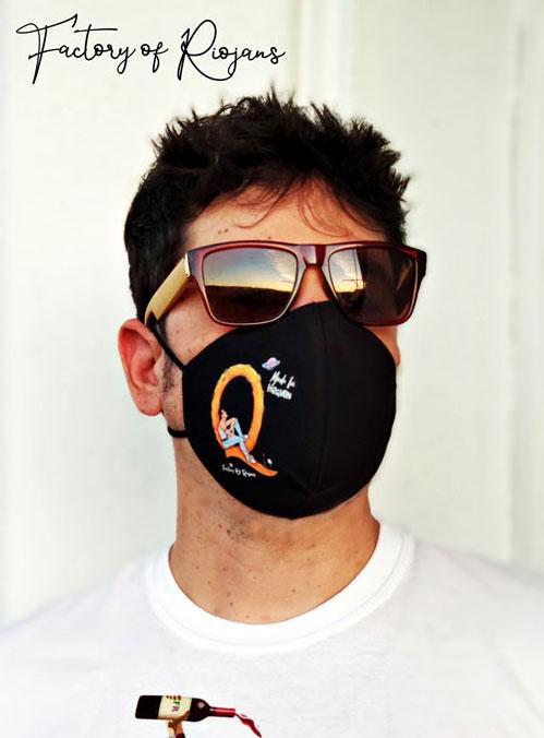 Mascarillas reutilizables hombre con Freddie Mercury