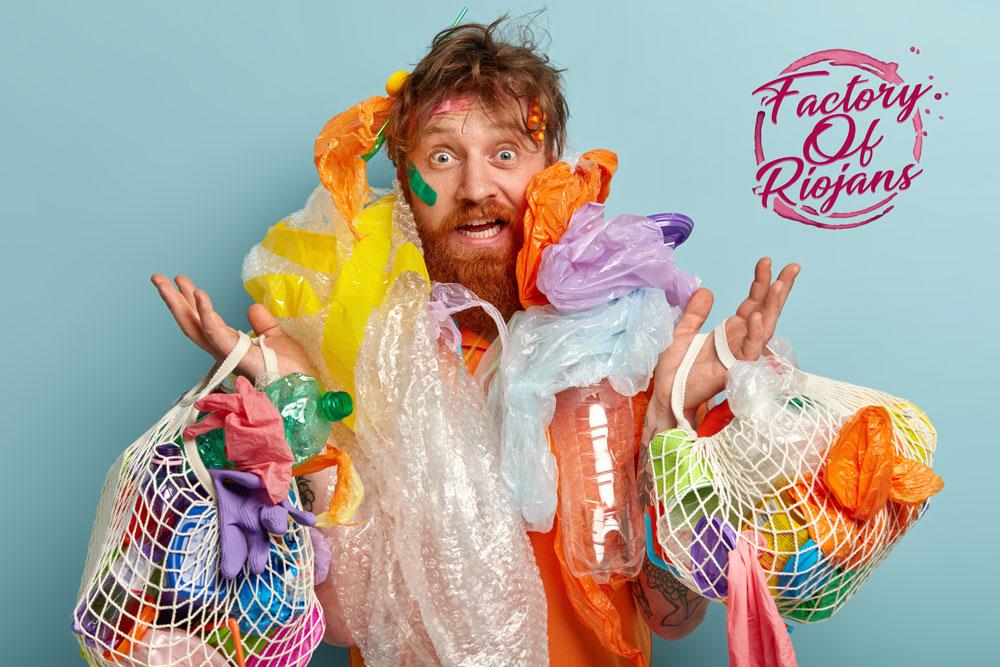 Los plásticos y las mascarillas dañan el planeta
