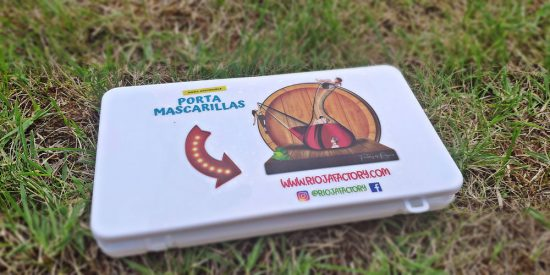 Caja porta mascarillas para tus mascarillas