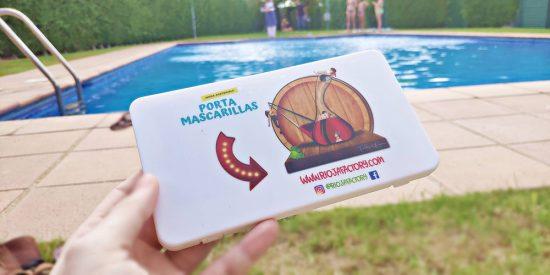 Pack Mascarilla Reutilizable con su caja Porta Mascarillas