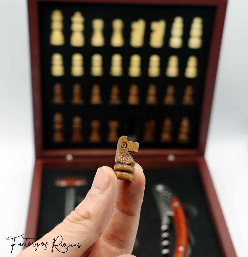 Regalo ajedrez original Gambito de Dama