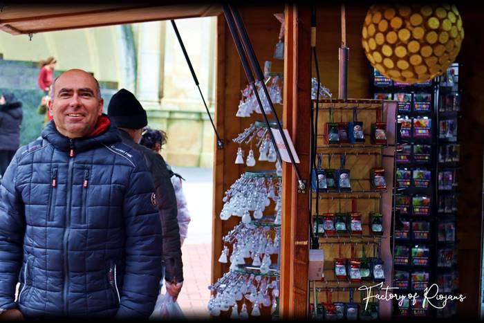 Fotos del Mercado Navideño en Logroño