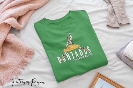 Camiseta unisex Danzador de Anguiano