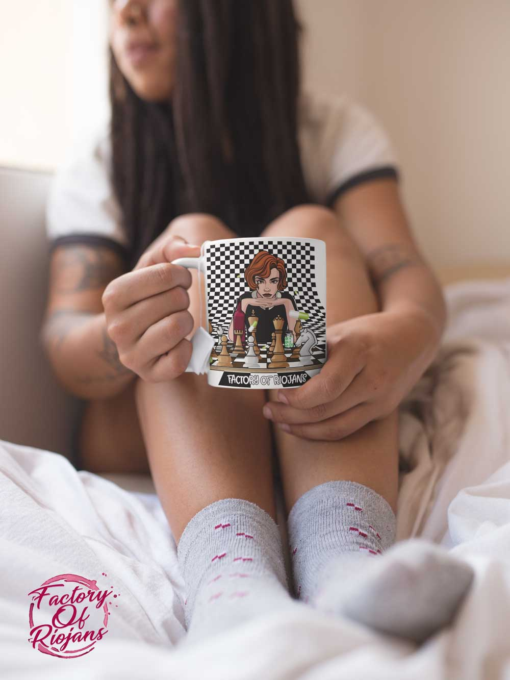 taza desayuno Gambito de Dama
