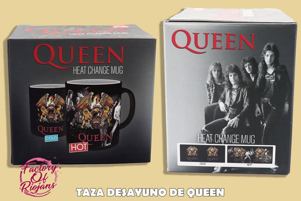 Tazas mágicas de Queen