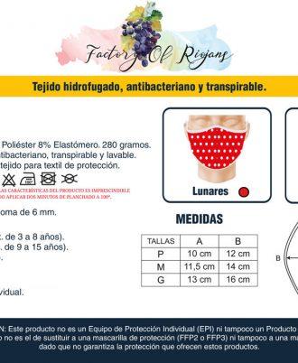 Mascarillas reutilizables hechas en España. Tienda online de mascarillas.