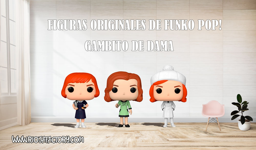 Todas las figuras de Gambito de Dama Funko pop