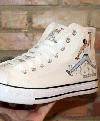 Zapatillas inspiradas en la Banda Queen