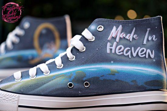 Zapatillas personalizadas Freddie Mercury Q