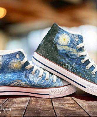 Zapatillas personalizadas Noche de Estrella