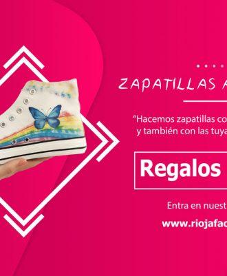 Zapatillas personalizadas tipo Converse