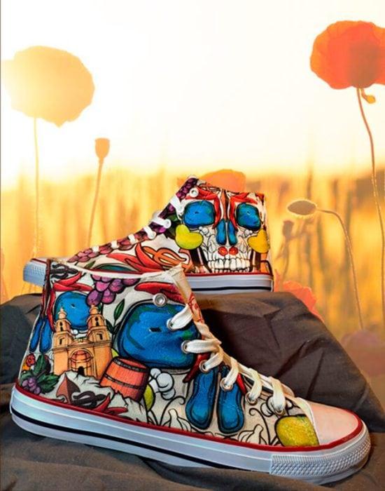 Zapatillas personalizadas Love Rioja
